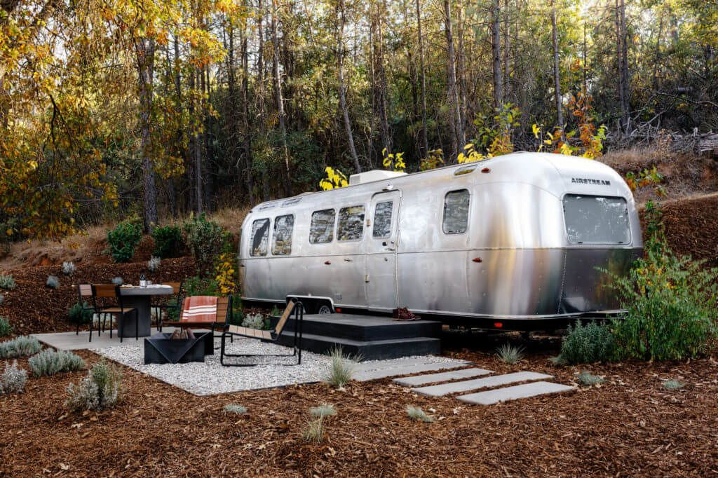 Autocamp Yosemite airstream in California