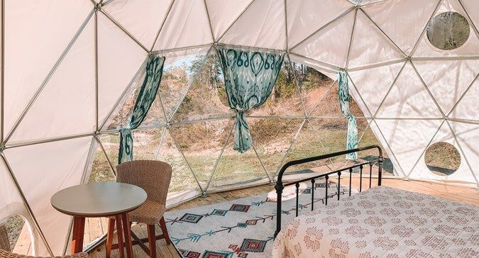 Asheville Glamping in North Carolina