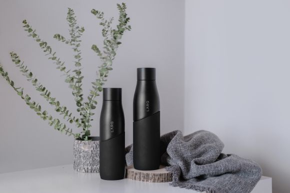 LARQ Bottle Movement Black Onyx bottle set