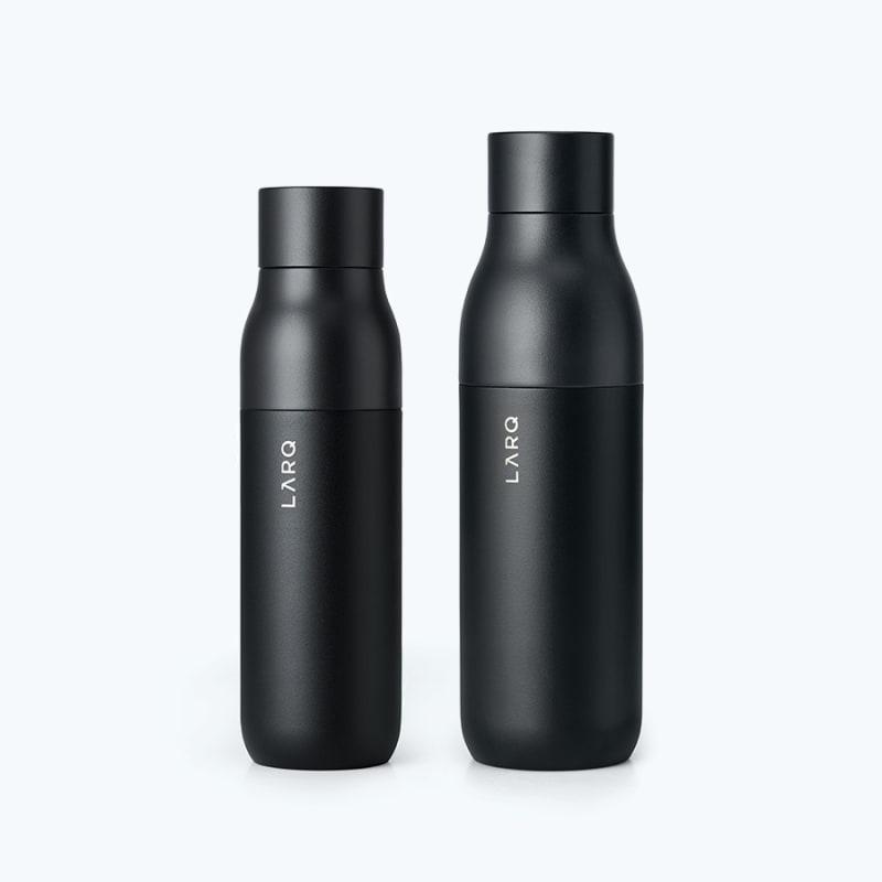 Coffrets cadeaux Darkside Duo: LARQ Bottle PureVis main