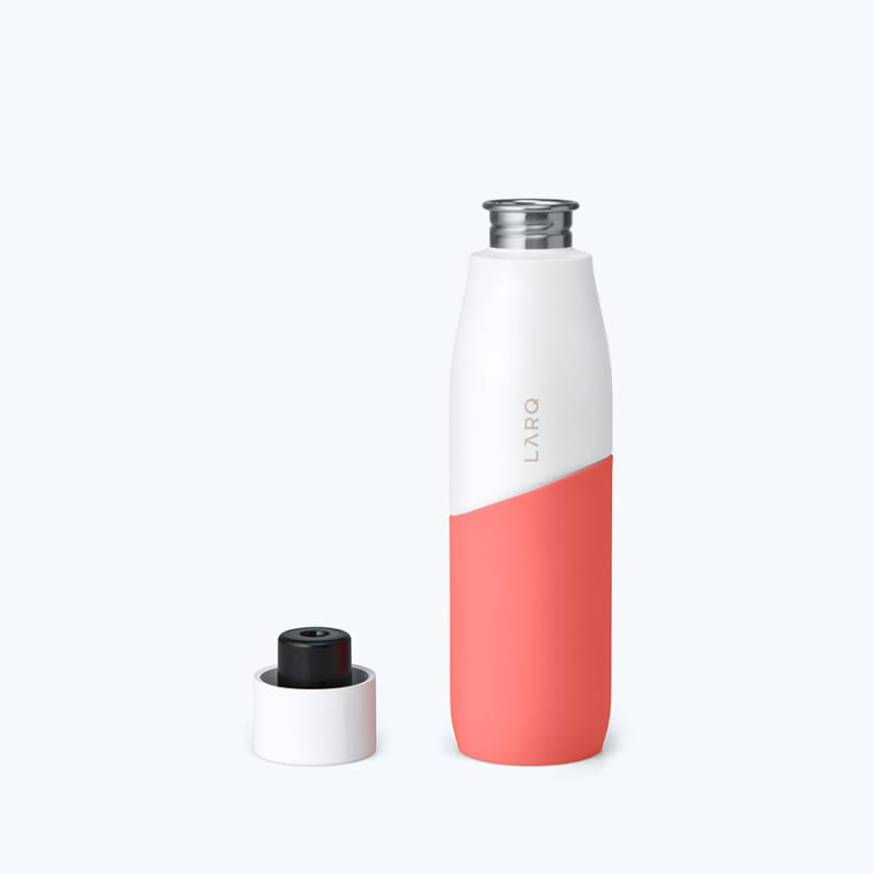 LARQ Bottle Movement PureVis™ White / Coral main alternative