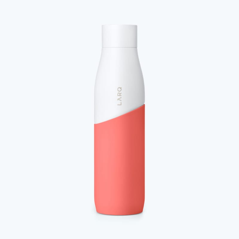 LARQ Bottle Movement PureVis™ White / Coral secondary