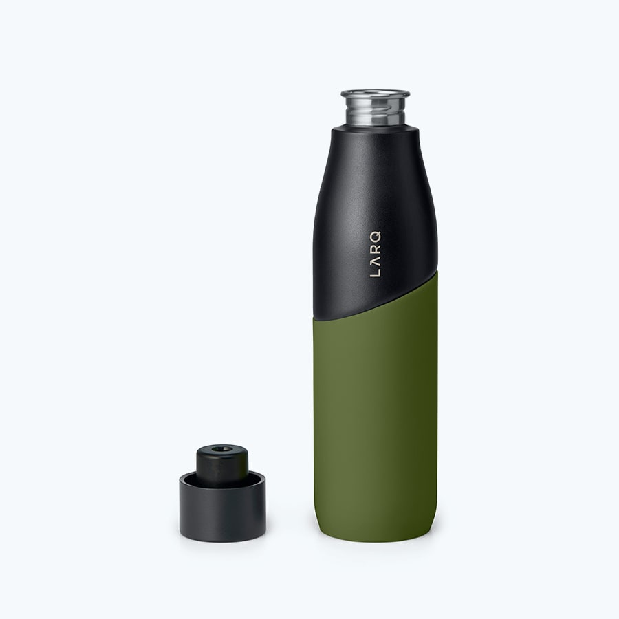 LARQ Bottle Movement PureVis™ Black / Pine secondary alternative