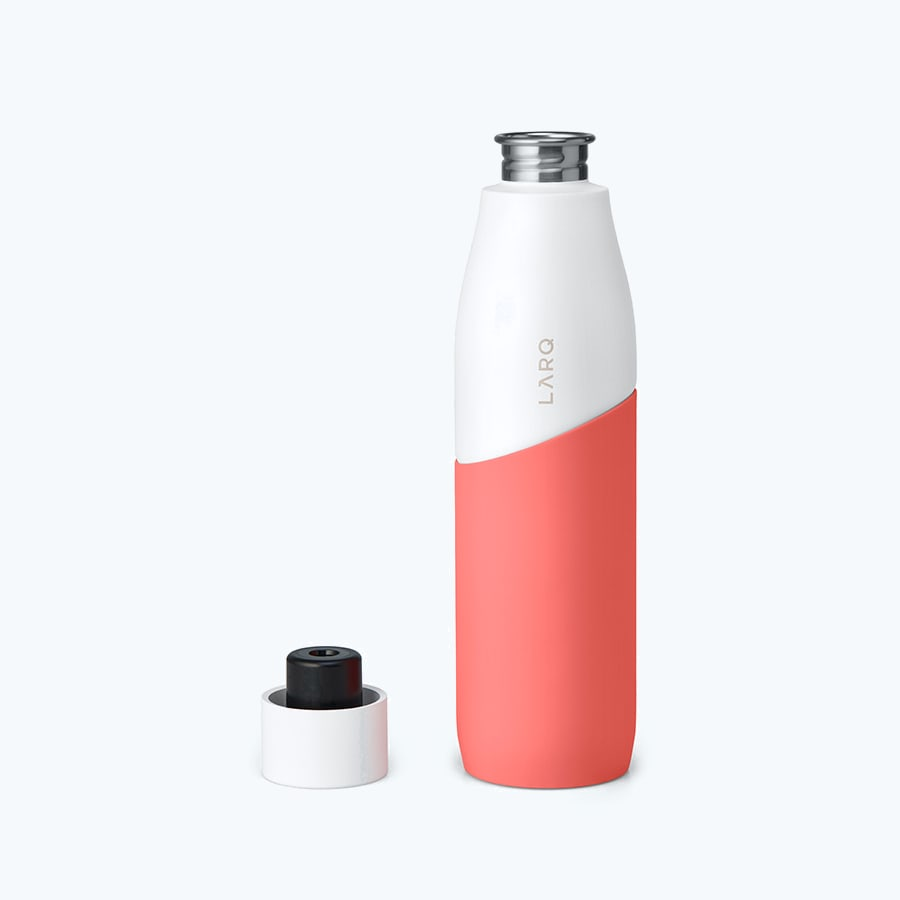 LARQ Bottle Movement PureVis™ White / Coral secondary alternative