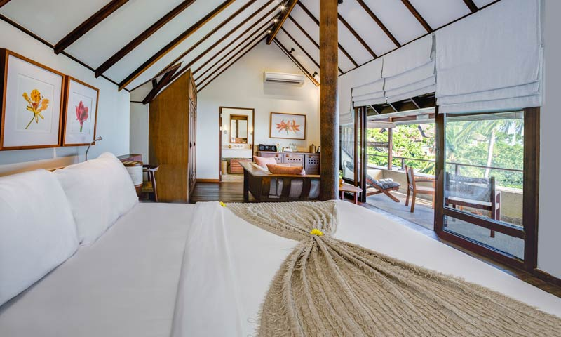 Kamalaya Suite Room in Koh Samui Southeast asian island