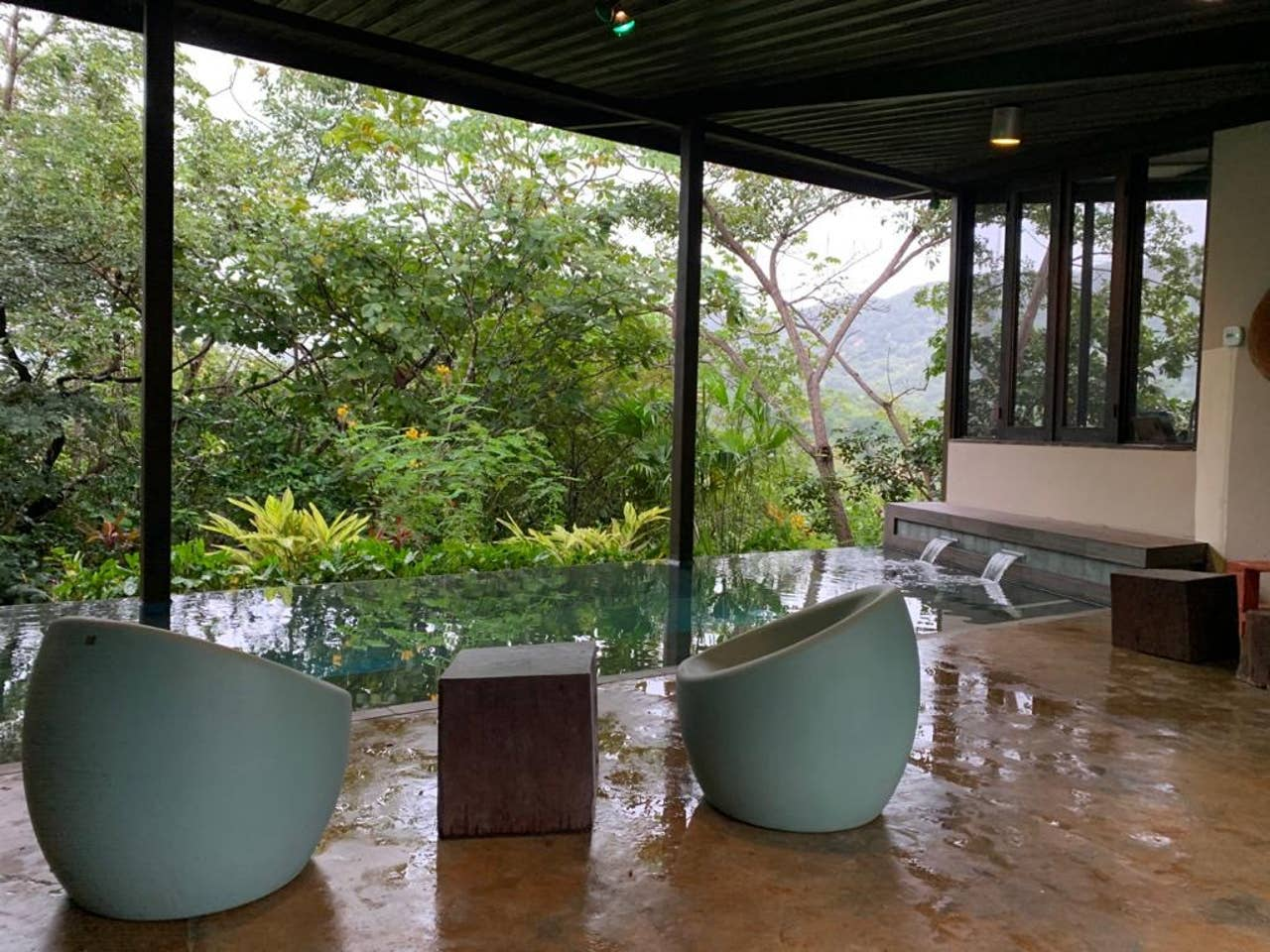 Inifinity Pool of Home in Panama