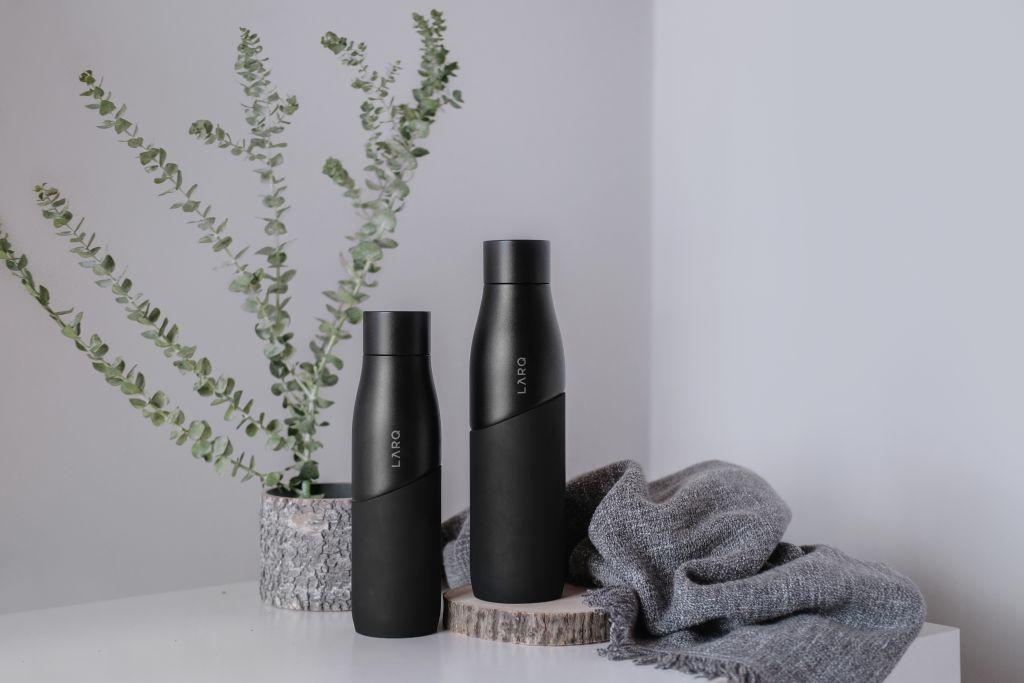 LARQ Bottle Movement Black Onyx bottle set