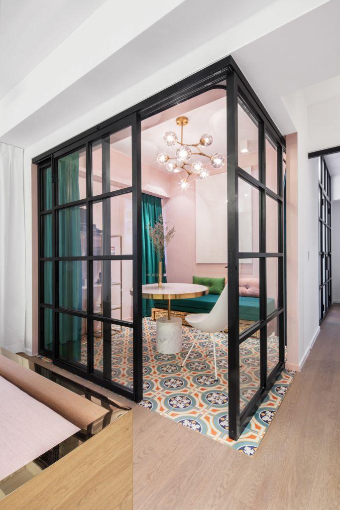 stylish eclectic hong kong apartment interior design