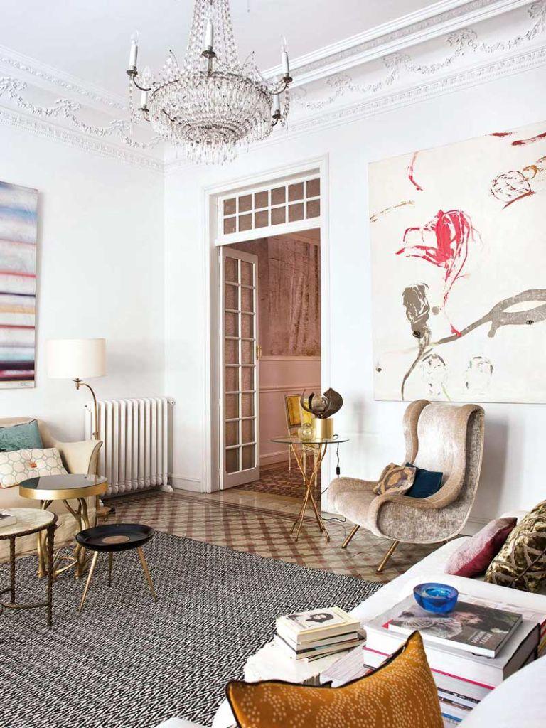 eclectic modern spanish interior design