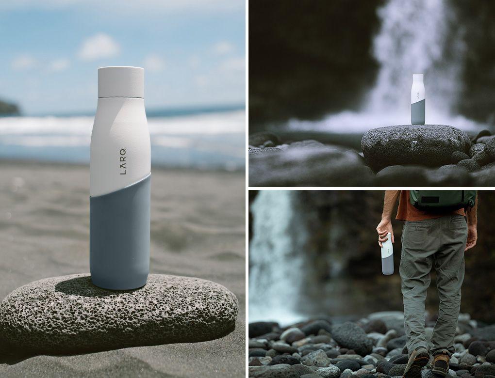 LARQ Bottle Movement Terra Edition: White/Pebble