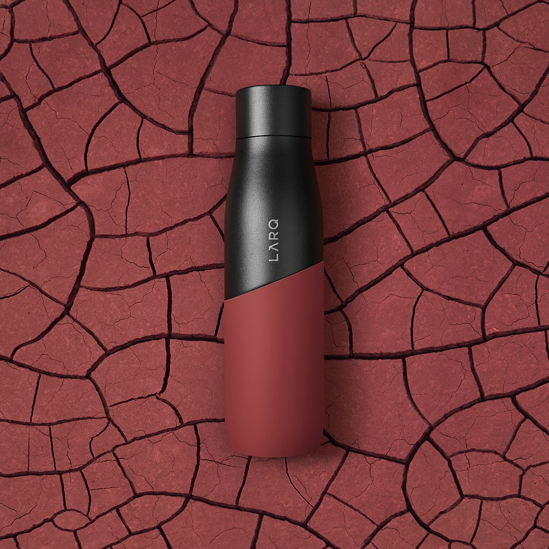 LARQ Bottle Movement Terra Edition in Black/Clay