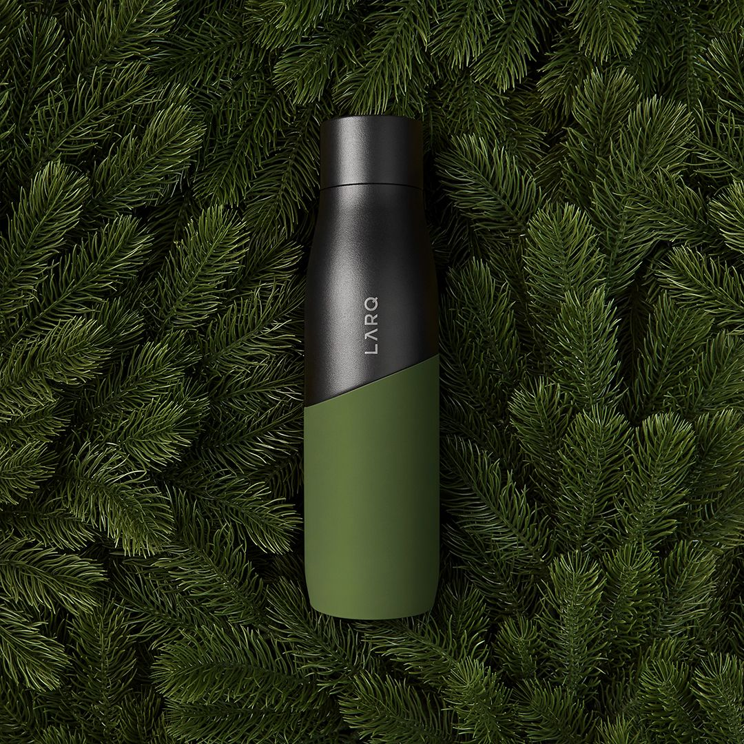 LARQ Bottle Movement Terra Edition in Black/Pine