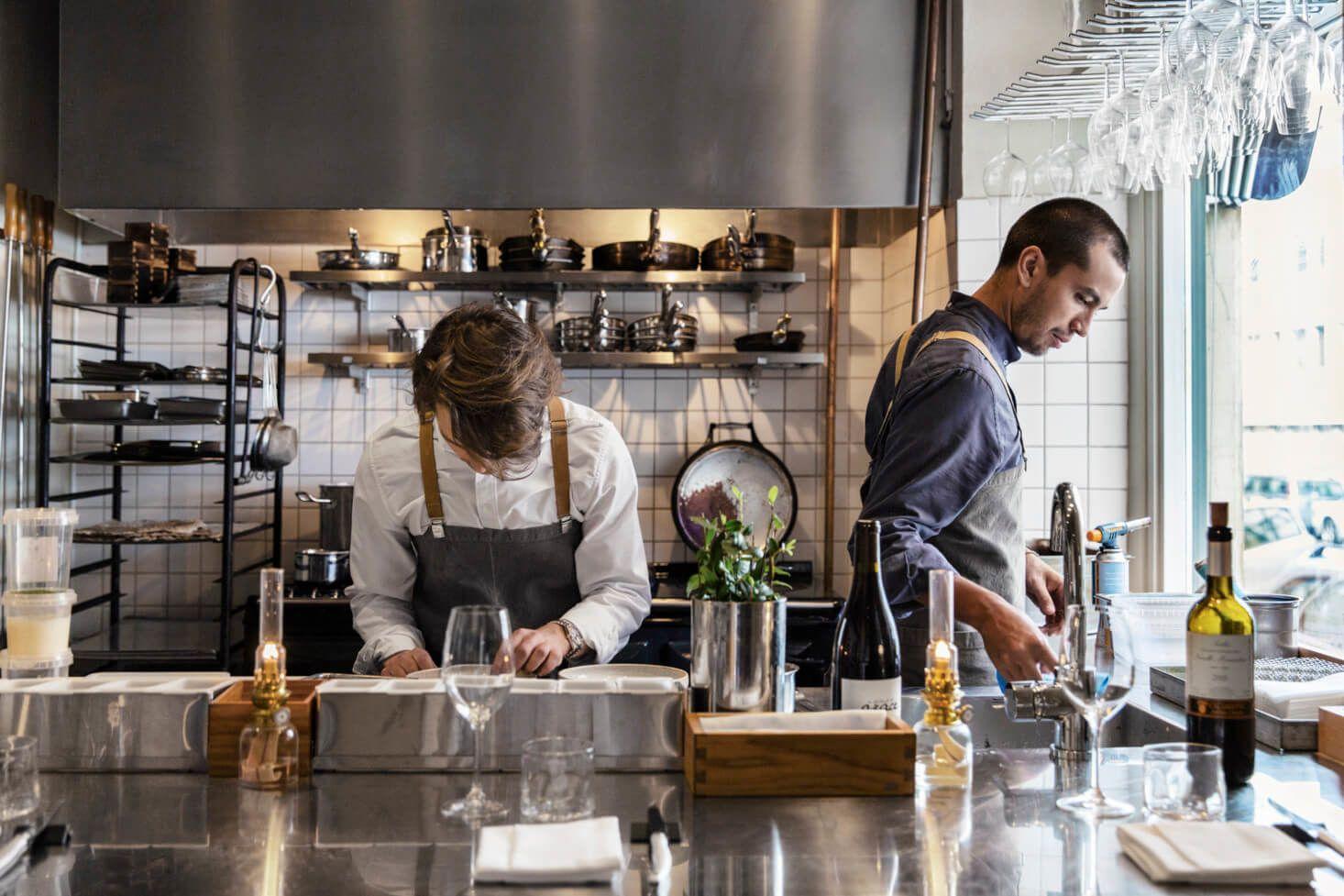 Filip Fasten, Michelin star chef of Agrikultur in Stockholm