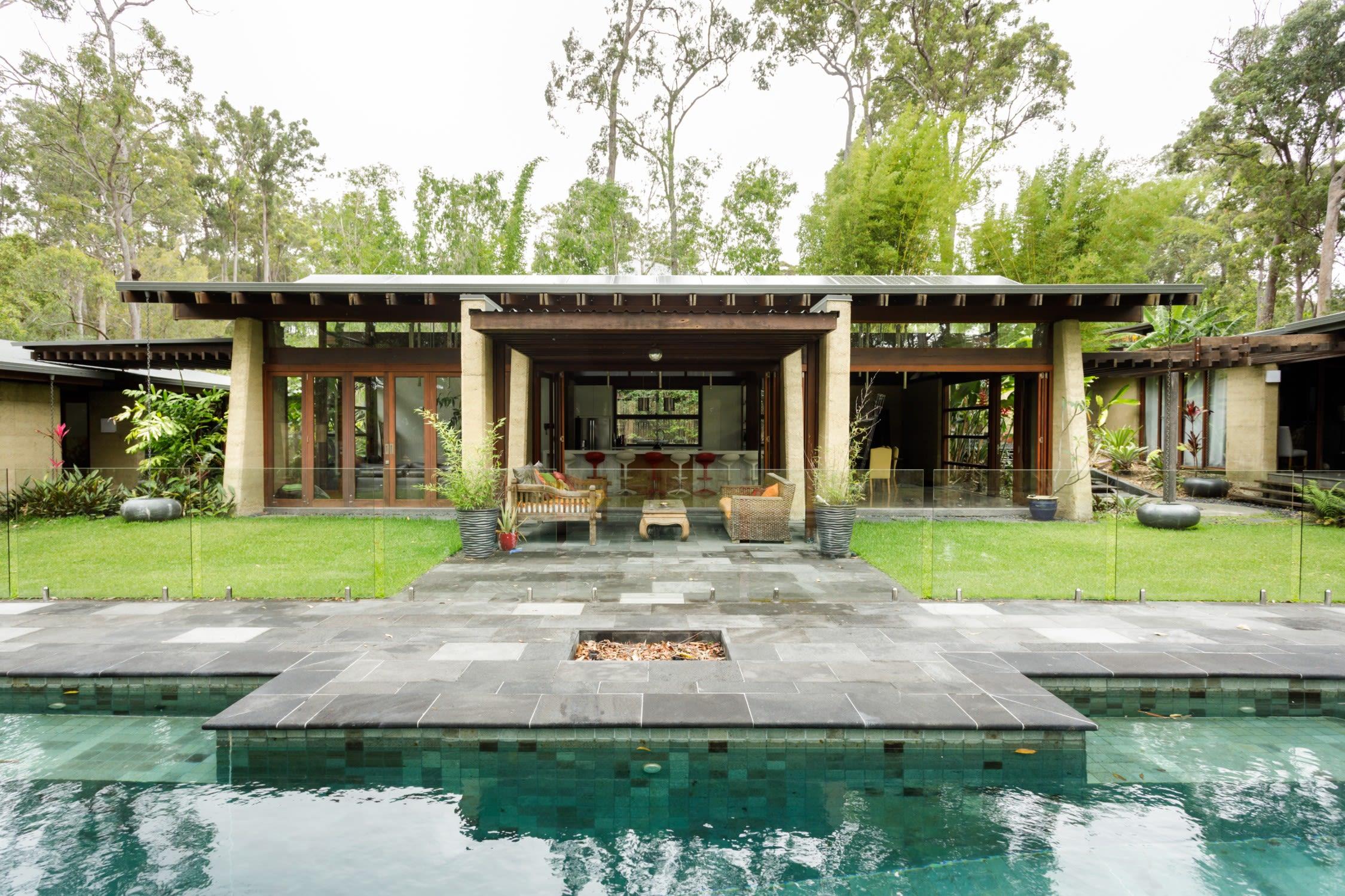 spacious villa with natural chemical-free pool
