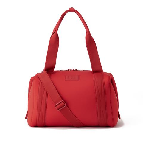 Dagne Dover Landon Carryall in Siren - Red Duffle bag