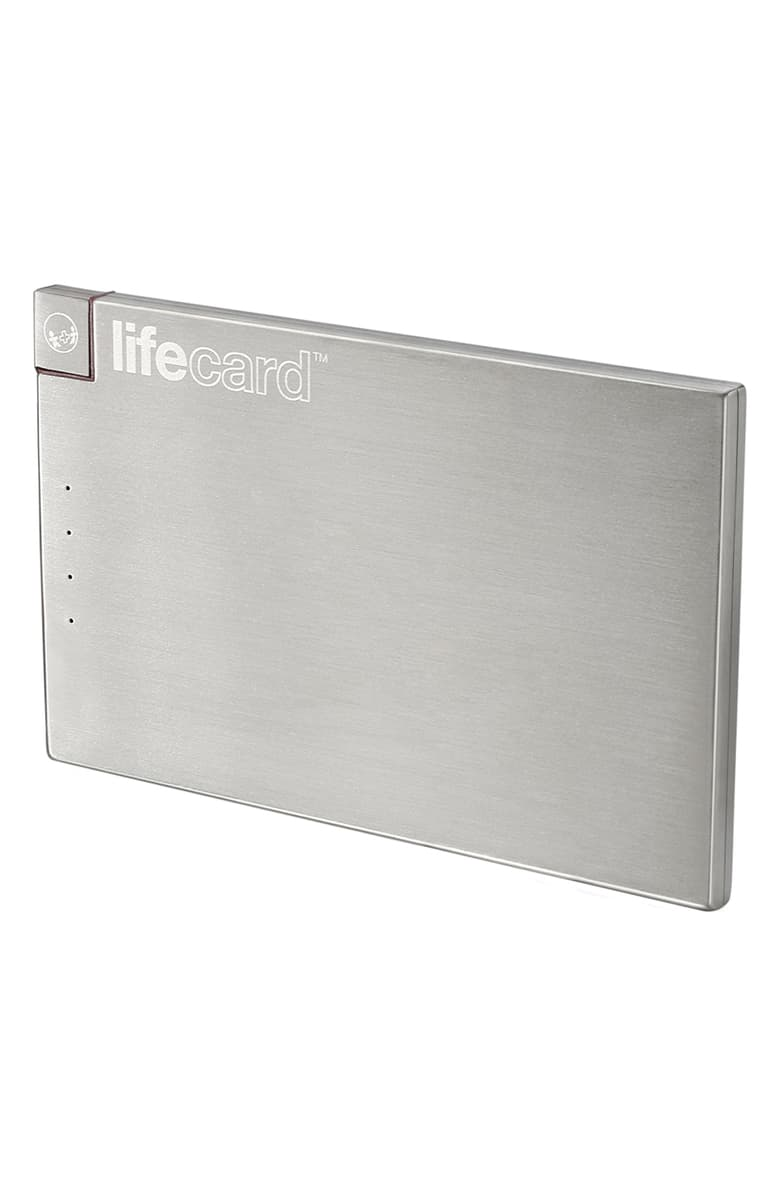 holiday gift guide external battery lifecard