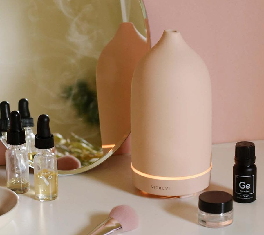 vitruvi aromatherapy diffuser mother's day gift idea