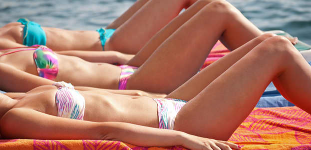how to reverse sun damage