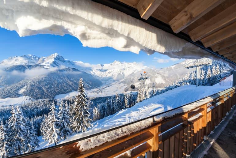 Skigebiet in Werfenweng