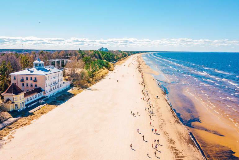 Strand bei Riga