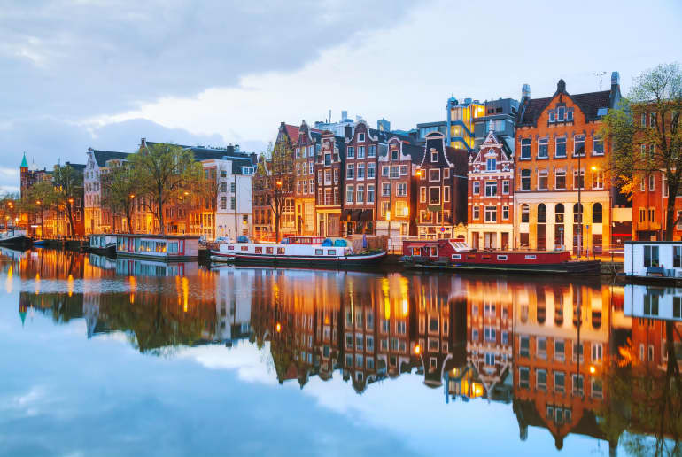 Fluss Niederlande