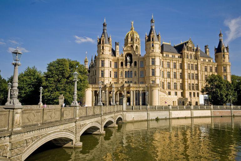 Märchenschloss in Schwerin