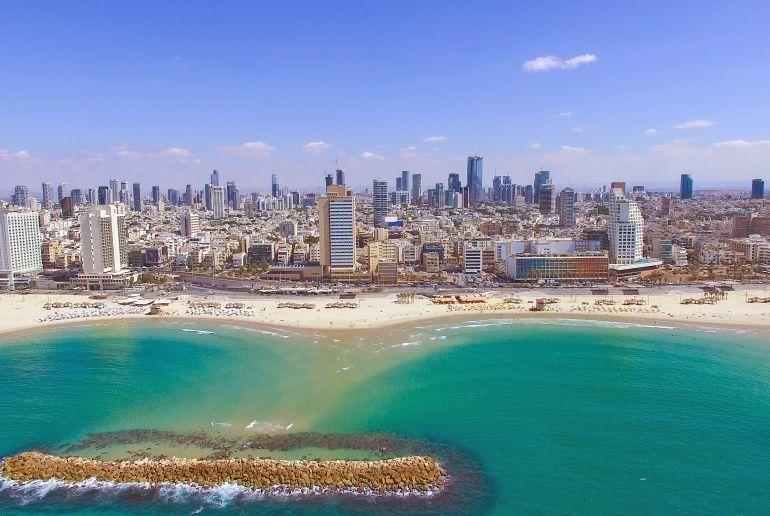 Küste Israel