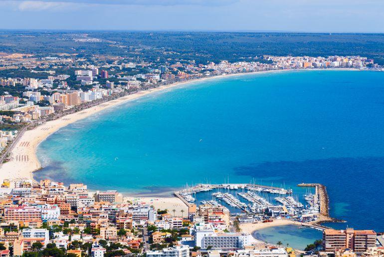 Küste auf Mallorca Can Picafort