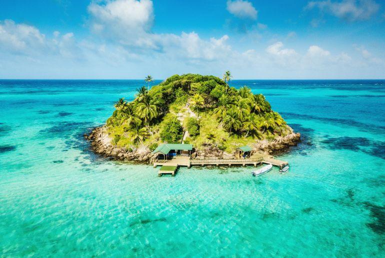Insel Kolumbien