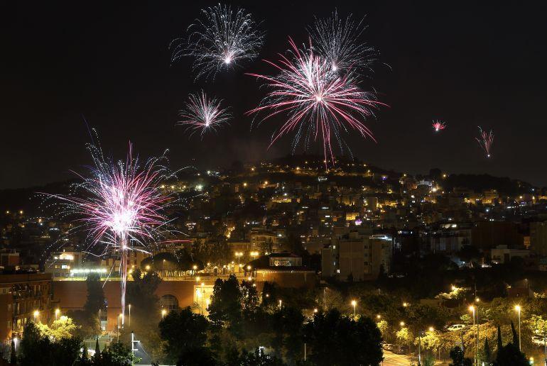 Feuerwerk Barcelona