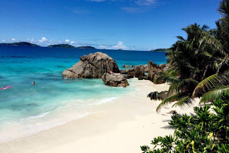 Strand Anse Intendance auf den Seychellen