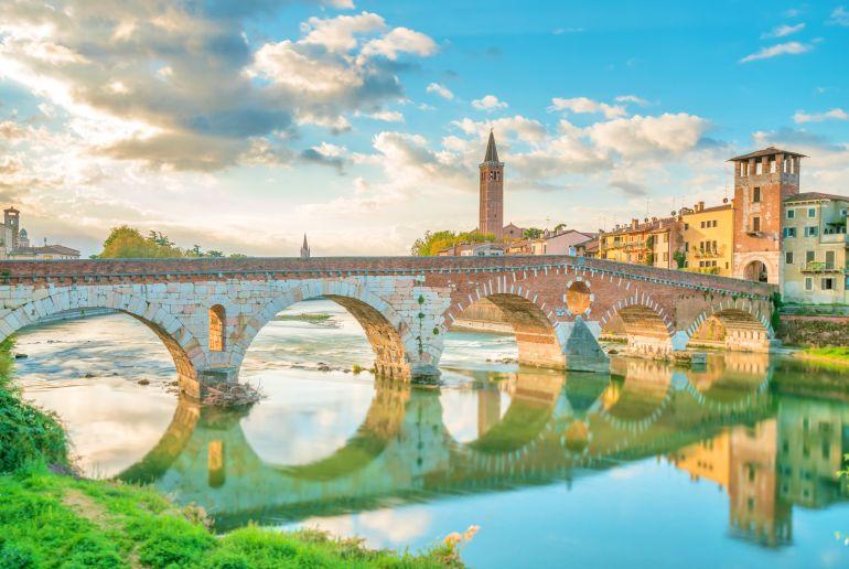Brücke in Italien