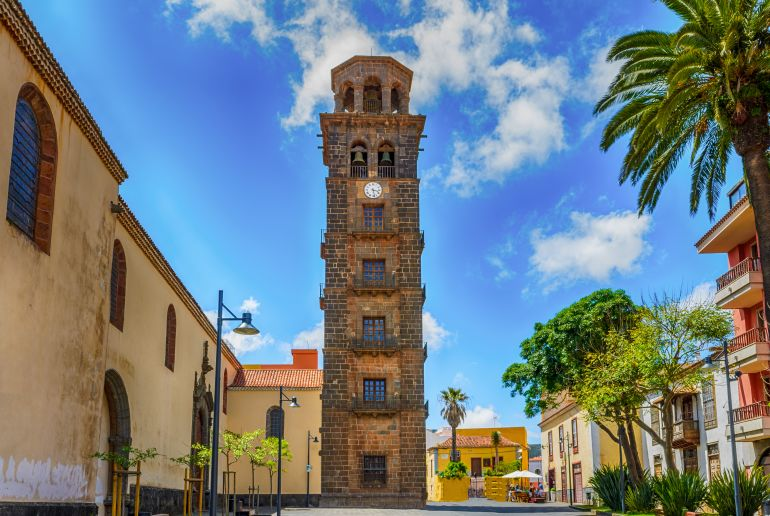 Alter Turm in Spanien