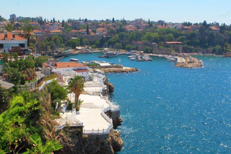 Küste an der Türkischen Rivera