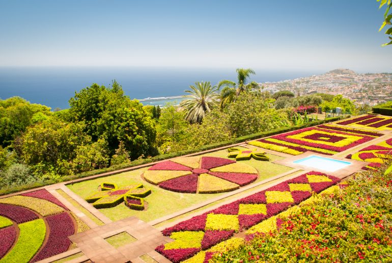 Bluemninsel Madeira