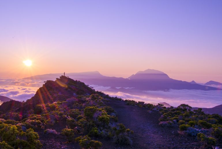Sonnenaufgang Reunion