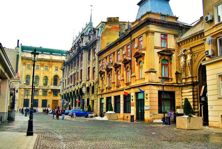 Gebäude in Rumänien