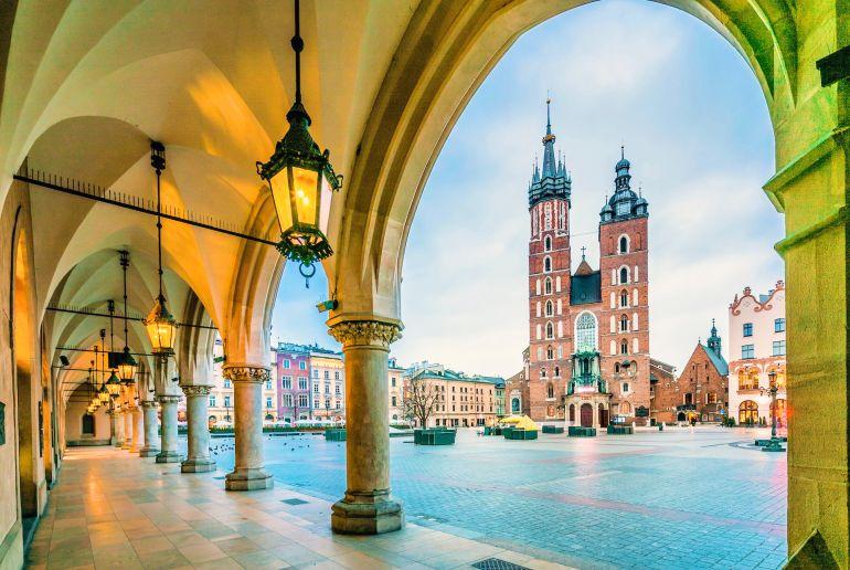 Platz in Polen