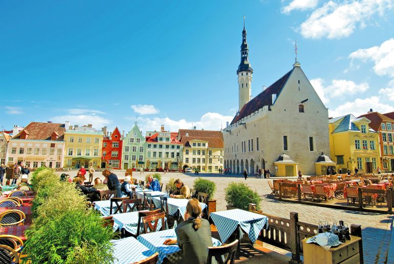 Lokal am Neben Kirche am Marktplatz in Tallin