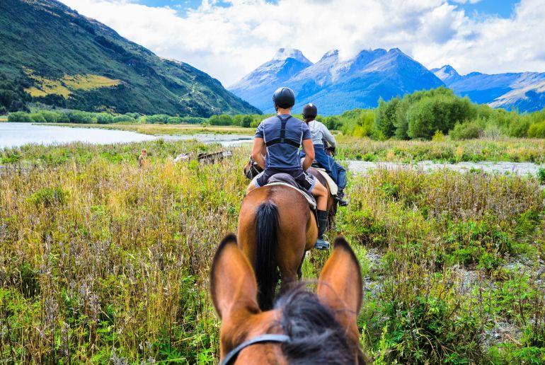 Reiter in Neuseeland