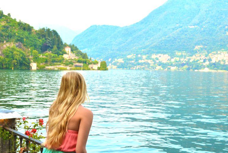 Comer See in der Nähe von Mailand