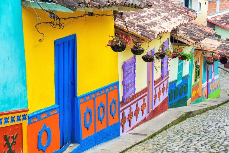 Kolumbien Häuser