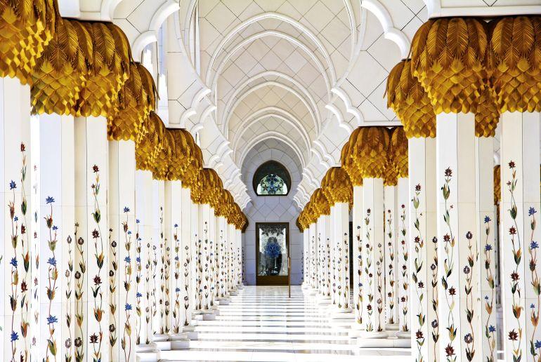 Moschee in Abu Dhabi