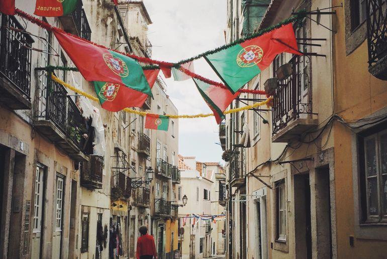 Portugal, Stadtansicht
