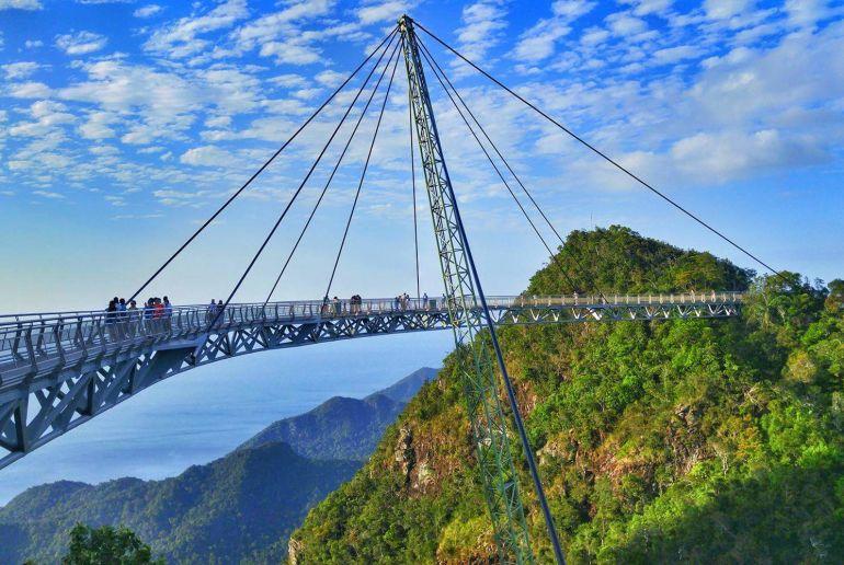 Brücke in Malaysia