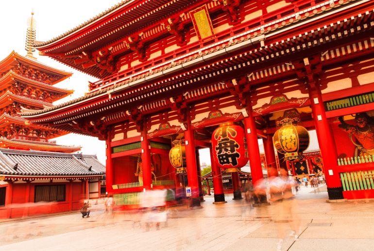 Japanisches Tor