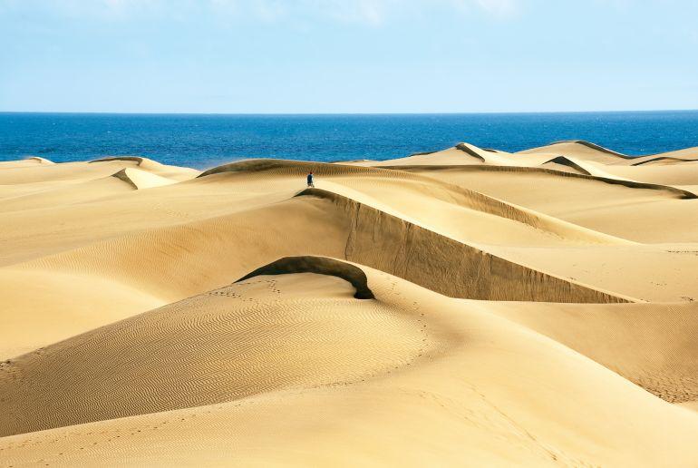 Sanddünen am Meer