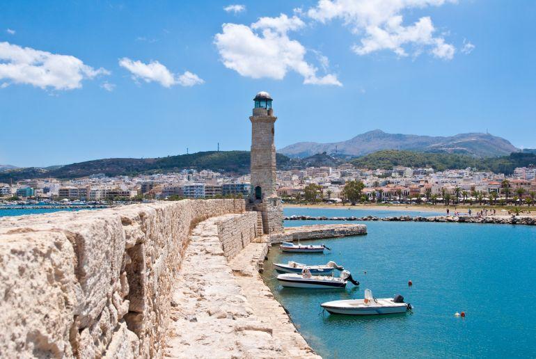 Leuchtturm von Rethymno
