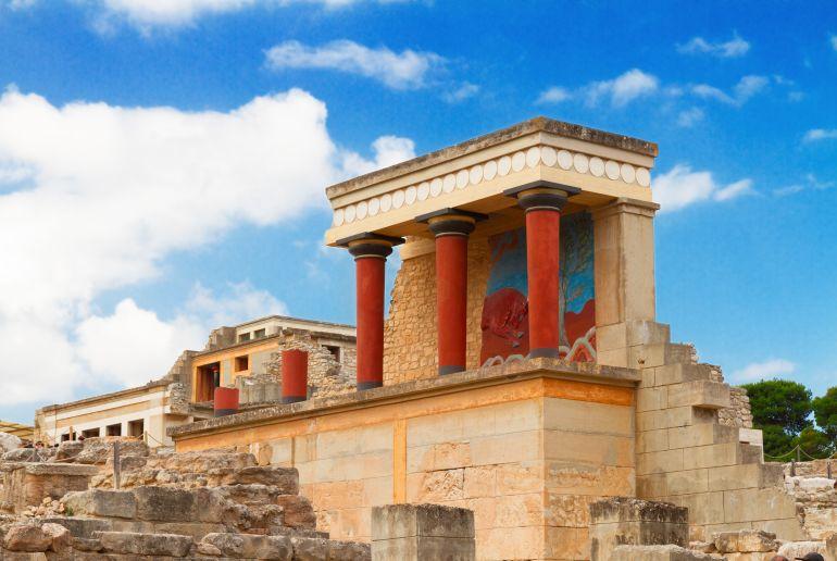 Übereste eines griechischen Tempel