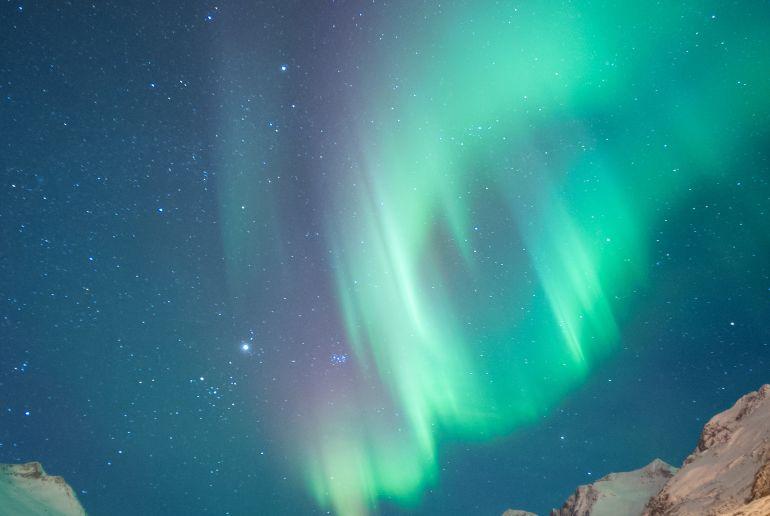 Norwegen Licht